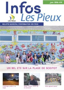 couverture du journal municipal de juin 2016