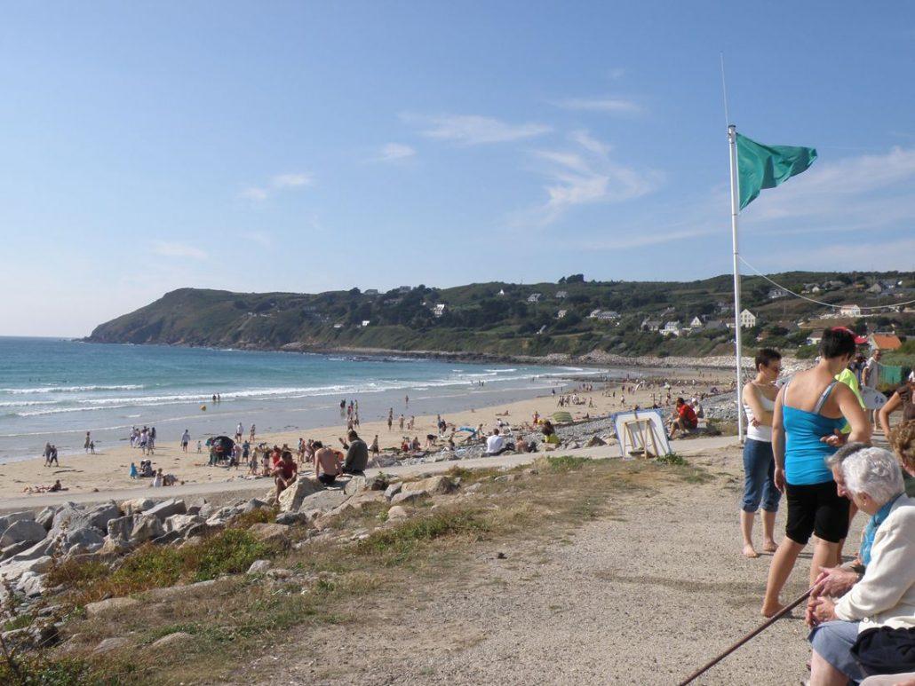 Photo de la plage de Sciotot