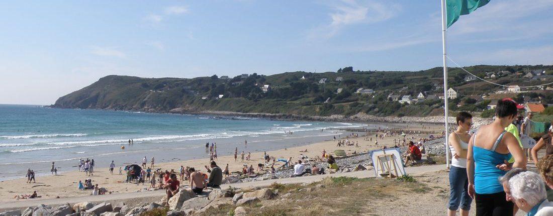 Photo de la plage de Sciotot  - Commune de Les Pieux