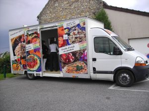 Photo d'un camion animation ccas